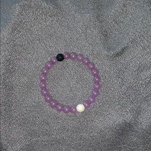 Purple Alzheimer's Lokai bracelet